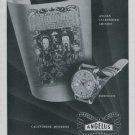 Angelus Watch Company Vintage 1946 Swiss Ad Switzerland Suisse Advert Horology