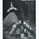 1946 Liga Watch Company Snow White & the Seven Dwarfs Switzerland 1946 Swiss Ad Suisse Advert