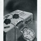1946 Ogival Watch Company Switzerland Vintage 1946 Swiss Ad Suisse Advert Horlogerie