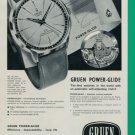 Gruen Watch Company Geneva Switzerland 1960 Swiss Ad Suisse Advert Horlogerie Horology