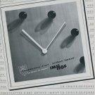 1946 Imhof Clock Company La Chaux-de-Fonds Switzerland 1946 Swiss Ad Suisse Advert