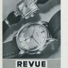 1946 Revue Watch Company Thommen S.A. Switzerland Vintage 1946 Swiss Ad Suisse Advert