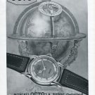 1946 Octo Watch Company Bienne Switzerland Vintage 1946 Swiss Ad Suisse Advert