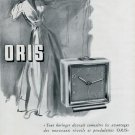1946 Oris Watch Company Switzerland Vintage 1946 Swiss Ad Suisse Advert Horology
