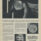 1957 Tourist Everlight Watch Company Switzerland Vintage 1957 Swiss Ad Suisse Advert