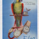 1946 Felca Watch Company Grenchen Switzerland Vintage 1946 Swiss Ad Suisse Advert