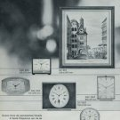 1967 Derby Clock Company Switzerland Derby Vox 1967 Swiss Ad Suisse Advert Horlogerie
