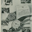 1944 Pierce Watch Company Bienne Switzerland Vintage 1944 Swiss Ad Suisse Advert Horlogerie