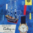 Mortima Watch Company Cattlin & Cie Watch Company France 1960 Swiss Ad Horology