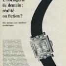 1968 Benrus Watch Company La Chaux-de-Fonds Switzerland Vintage 1968 Swiss Ad Suisse Advert