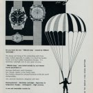 1960 Teriam Watch Company Switzerland Teriam Jump Advert Vintage 1960 Swiss Ad Suisse Advert