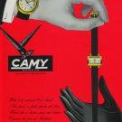 Camy Watch Company Geneva Switzerland 1960 Swiss Ad Suisse Advert Horlogerie