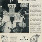 1960 Rolex Watch Company Switzerland Vintage 1960 Swiss Ad Suisse Advert Horlogerie