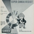 1960 Monorex Super Shock Resist Erismann Schinz Vintage 1960 Swiss Ad Suisse Advert Horology