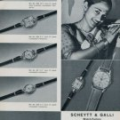 S & G Watch Company Scheytt & Galli West Germany 1960 Swiss Ad Horology Advert