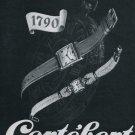 Cortebert Watch Company Vintage 1946 Swiss Ad Switzerland Suisse Advert Horlogerie