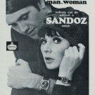 1967 Sandoz Watch Company Switzerland Vintage 1967 Swiss Ad Suisse Advert H. Sandoz et Co