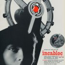 1956 Incabloc Universal Escapement Company 1956 Swiss Ad Suisse Advert Switzerland Horology