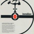 1959 Le Porte Echappement Universel SA Company Incabloc 1959 Swiss Ad Suisse Advert Horology