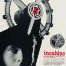 Incabloc Vintage 1956 Swiss Ad Suisse Advert Le Porte-Echappement Universel S.A. Horology
