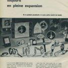 1962 Jaeger-LeCoultre Watch Company Geneva Switzerland 1962 Swiss Ad Suisse Advert Horlogerie