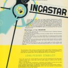 1949 Incastar Universal Escapement Company Vintage 1949 Swiss Ad Suisse Advert Horology Horlogerie