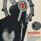 1956 Incabloc Le Porte-Echappement Universel SA 1956 Swiss Ad Suisse Advert Horology