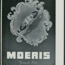 1947 Moeris Watch Company Switzerland Vintage 1947 Swiss Ad Suisse Advert Horology
