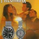 1973 Precimax Watch Company Vintage 1973 Swiss Ad Suisse Advert Switzerland Horology Horlogerie