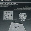 1973 Imhof Clock Company Arthur Imhof SA 1973 Swiss Ad Suisse Horlogerie Advert Horology