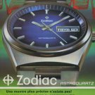 1973 Zodiac Watch Company Zodiac Astroquartz Advert 1973 Swiss Ad Suisse Advert Switzerland