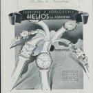 1947 Helios Watch Company Switzerland Vintage 1947 Swiss Ad Suisse Advert Pprrentruy