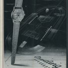 Breitling Watch Company Duograph Vintage 1947 Swiss Ad Suisse Advert Horology