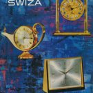 1965 Swiza Clock Company Louis Schwab S.A. 1965 Swiss Ad Suisse Advert Switzerland Horology