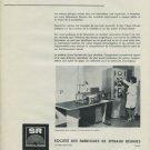 Societe des Fabriques de Spiraux Reunies SA 1965 Swiss Ad Suisse Advert Horology
