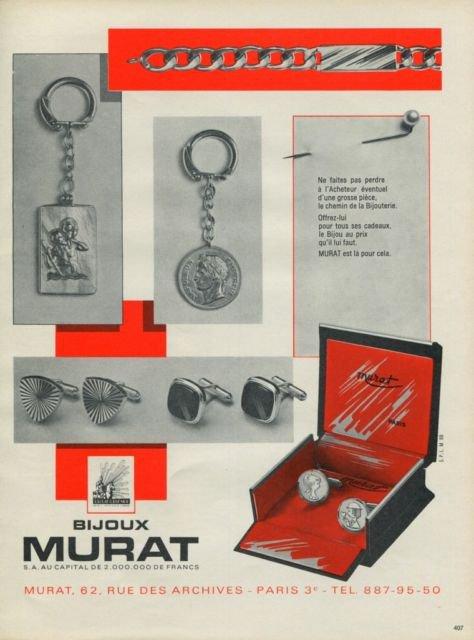 Friperie Bijoux Vintage Paris : Bijoux murat jewelry company paris france vintage