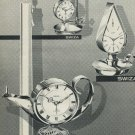 1965 Swiza Clock Company Moutier Switzerland Vintage 1965 Swiss Ad Suisse Advert Horology