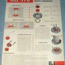 1951 KIF 370 Watch Part Company Parechoc Le Sentier Switzerland 1951 Swiss Ad Suisse Advert