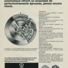 1967 Revue Watch Company Revue Exactomatic Advert Vintage 1967 Swiss Ad Suisse Advert Horology