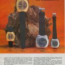 Rodania Watch Company Grenchen Switzerland Vintage 1970 Swiss Ad Suisse Advert