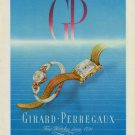 1949 Girard-Perregaux Watch Company Switzerland Vintage 1949 Swiss Ad Suisse Advert