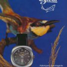 1972 Ogival Watch Company La Chaux-de-Fonds Switzerland Vintage 1972 Swiss Ad Suisse Advert