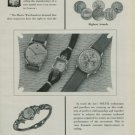 1950 Solvil Watch Company Geneva Switzerland Vintage 1950 Swiss Ad Suisse Advert Geneve