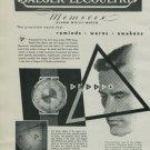 1950 Jaeger-LeCoultre Watch Company Geneva Switzerland Vintage 1950 Swiss Ad Suisse Advert