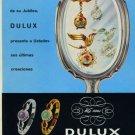 Dulux Watch Company Vintage 1956 Swiss Ad Tramelan Suiza Suisse Advert Horlogerie