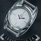 1956 Louis Lang Watch Company Porrentruy Switzerland 1956 Swiss Ad Suisse Horlogerie Advert