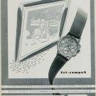 Universal Watch Company Universal-Geneve Watch Co. 1949 Swiss Ad Suisse Horlogerie Advert