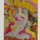 Willem de Kooning (Untitled 1972) Art Ad Advertisement