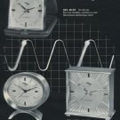 Imhof Clock Company Switzerland 1973 Swiss Ad Suisse Advert Arthur Imhof SA Horology