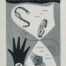 1956 Ernest Borel Watch Company Switzerland Vintage 1956 Swiss Ad Suisse Advert Horlogerie Horology